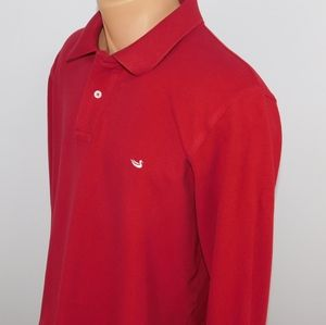 Southern Marsh long sleeve polo shirt. M